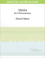 Talea - Daniel Adams [DIGITAL SCORE]