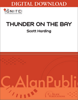 Thunder on the Bay - Scott Harding [DIGITAL SCORE]