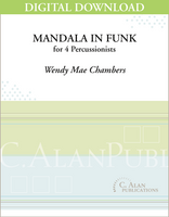Mandala in Funk - Wendy Mae Chambers [DIGITAL SCORE]