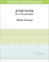Junk Funk - Mario Gaetano [DIGITAL SCORE]