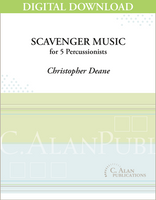 Scavenger Music - Christopher Deane [DIGITAL]