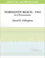 Normandy Beach - 1944 - David R. Gillingham [DIGITAL]