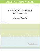 Shadow Chasers - Michael Burritt [DIGITAL SCORE]