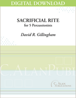Sacrificial Rite - David R. Gillingham [DIGITAL SCORE]