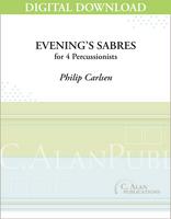 Evening's Sabres - Philip Carlsen [DIGITAL]