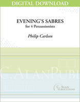 Evening's Sabres - Philip Carlsen [DIGITAL SCORE]