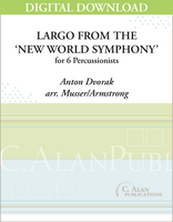 Largo from the 'New World Symphony' - Armstrong [DIGITAL SCORE]