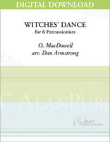 Witches' Dance (MacDowell) - Armstrong [DIGITAL SCORE]