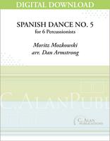 Spanish Dance No. 5 (Moszkowski) - Armstrong [DIGITAL SCORE]