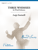 Three Whimsies (Band Gr. 4.5)