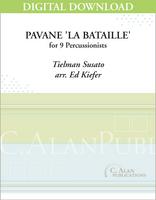 Pavane 'La Bataille' - Ed Kiefer [DIGITAL SCORE]