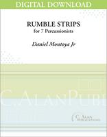 Rumble Strips - Daniel Montoya, Jr. [DIGITAL SCORE]