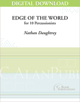 Edge of the World (Perc Ens 10) - Nathan Daughtrey [DIGITAL]