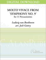 Molto Vivace from 'Symphony No. 9' - Josh Gottry [DIGITAL SCORE]