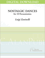 Nostalgic Dances - Luigi Zaninelli [DIGITAL SCORE]