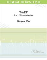 Warp - Dwayne Rice [DIGITAL SCORE]