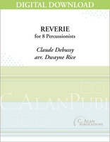 Reverie [Debussy] - Dwayne Rice [DIGITAL SCORE]