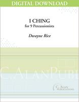 I Ching - Dwayne Rice [DIGITAL SCORE]