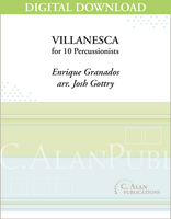 Villanesca (Granados) - Josh Gottry [DIGITAL]