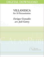 Villanesca (Granados) - Josh Gottry [DIGITAL SCORE]