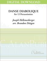 Danse Diabolique - Brandon Dittgen [DIGITAL SCORE]