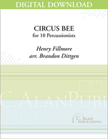 Circus Bee - Brandon Dittgen [DIGITAL SCORE]