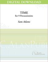 Time - Sam Adams [DIGITAL SCORE]
