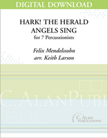 Hark! the Herald Angels Sing - Keith Larson [DIGITAL SCORE]