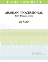 Arabian Processional - Ed Kiefer [DIGITAL SCORE]
