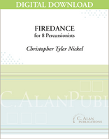 Firedance -  Christopher Tyler Nickel [DIGITAL SCORE]
