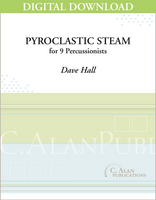Pyroclastic Steam - Dave Hall [DIGITAL SCORE]