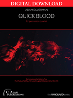 Quick Blood - Adam Silverman [DIGITAL SET]