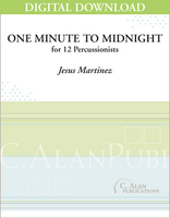 One Minute to Midnight - Jesus Martinez [DIGITAL SCORE]