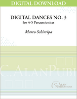 Digital Dances No. 3 - Marco Schirripa [DIGITAL SCORE]