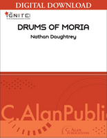 Drums of Moria - Nathan Daughtrey [DIGITAL SCORE]