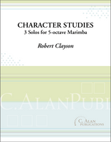 Character Studies (Solo 4-Mallet Marimba)