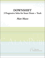 Downshift (Solo Snare Drum + Track)