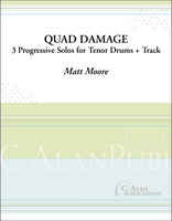 Quad Damage (Solo Tenor Drums + Track)