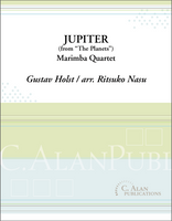 Jupiter from Holst's 'The Planets' (Marimba Quartet)