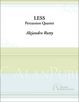 Less (Percussion Quartet)