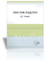 One For Paquito (Solo 4-Mallet Vibraphone)