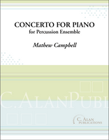 Concerto for Piano & Percussion Ensemble (solo + 8 players)