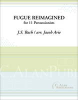 Fugue Reimagined - Bach (Perc Ens 11)