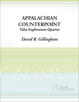 Appalachian Counterpoint (Tuba-Euphonium Quartet)