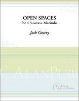 Open Spaces (Solo 4-Mallet Marimba)