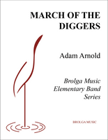 March of the Diggers (Band Gr. 1)