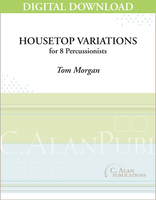 Housetop Variations - Tom Morgan [DIGITAL SCORE]
