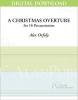 A Christmas Overture - Alex Orfaly [DIGITAL SCORE]