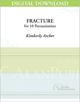 Fracture - Kimberly Archer [DIGITAL SCORE]