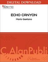 Echo Canyon - Mario Gaetano [DIGITAL SCORE]